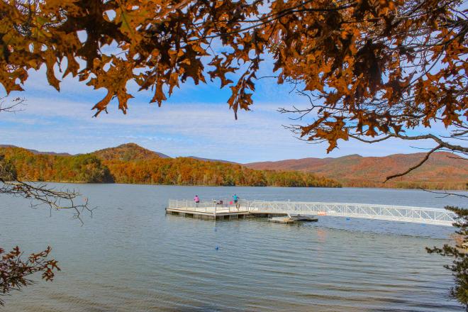 Carvins Cove - Fall - Roanoke, Virginia