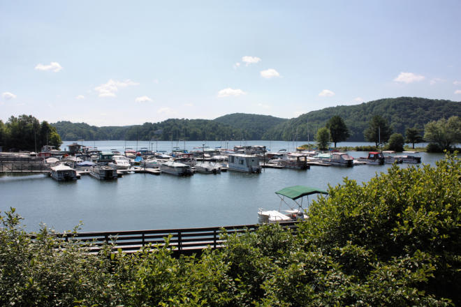 Claytor Lake State Park - Boats