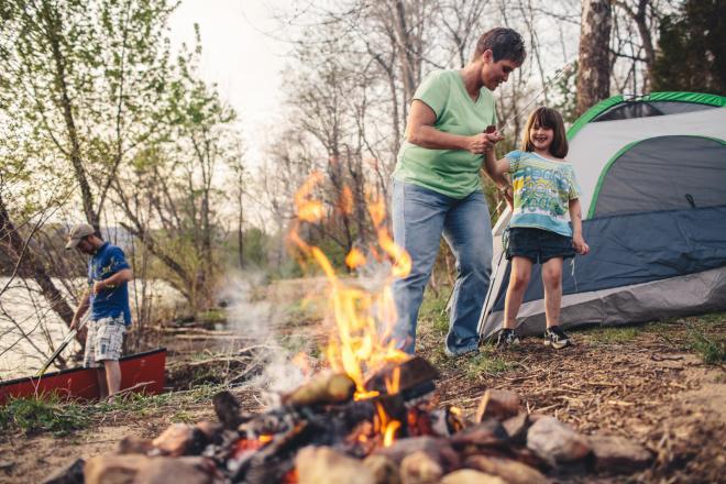 James River Camping - Botetourt County