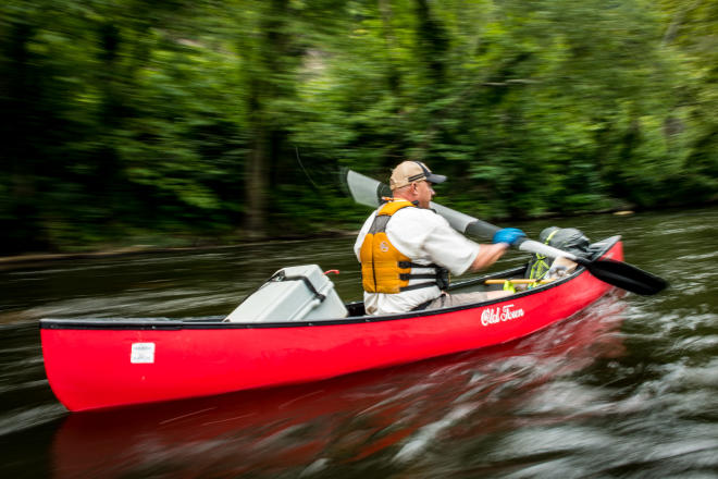 Upper James River Water Trail - Canoeing