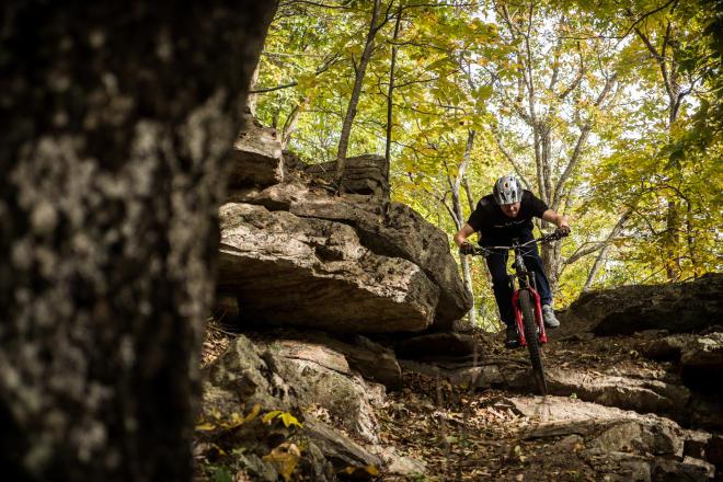 North Mountain - Dragon's Back - Mountain Biking