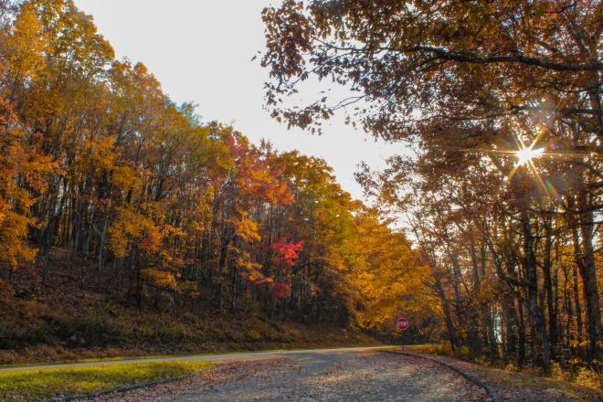 Poor Mountain Overlook - Blue Ridge Parkway, Virginia