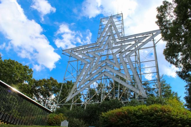 Roanoke Star - Mill Mountain