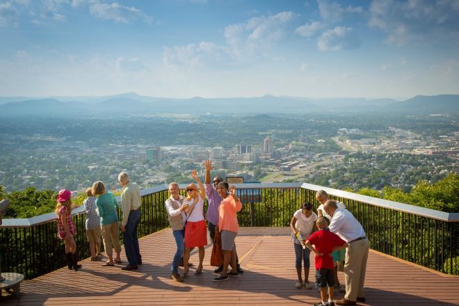 Roanoke Star Overlook - Mill Mountain