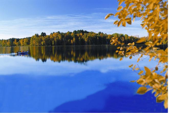 Fall Smith Mountain Lake