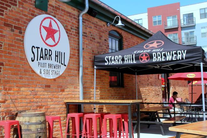 Starr Hill Brewery Roanoke Patio