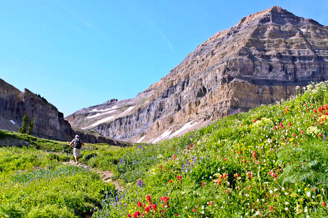 Challenging Hikes in Utah Valley - Mount Timpanogos