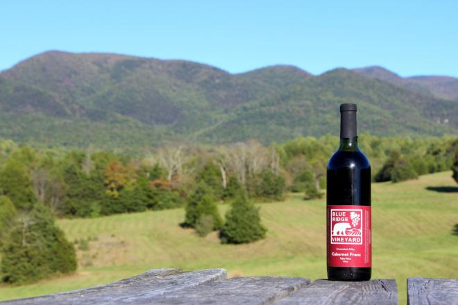 Blue Ridge Vineyard - Botetourt County, VA