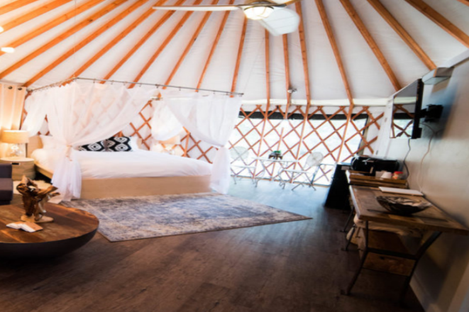 Yurts Bedroom