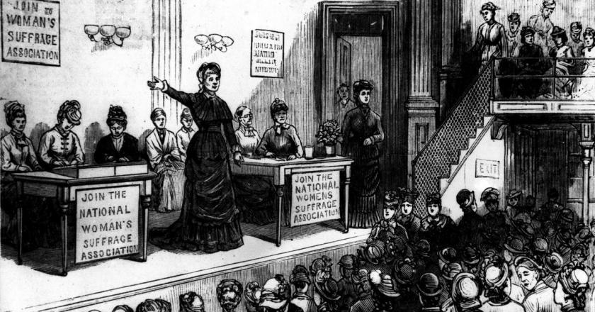 Women's Suffrage Seneca Falls