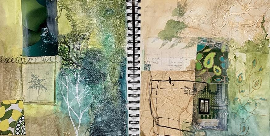 Mixed Media Art Journaling for Beginners - Live online Workshop
