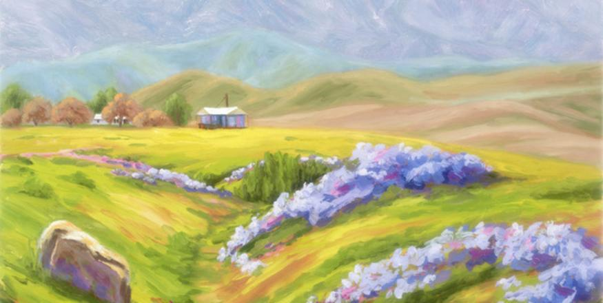 CANCELLED | Carrizo in Spring! Paintings by SLOPE