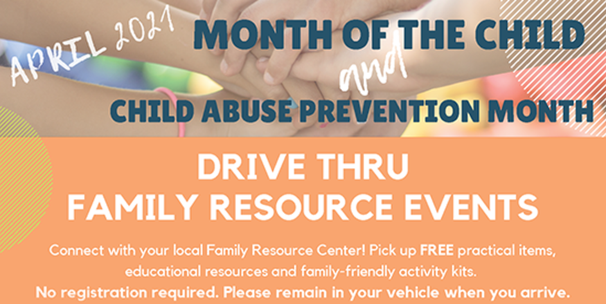 Drive-Thru Family Resource Events