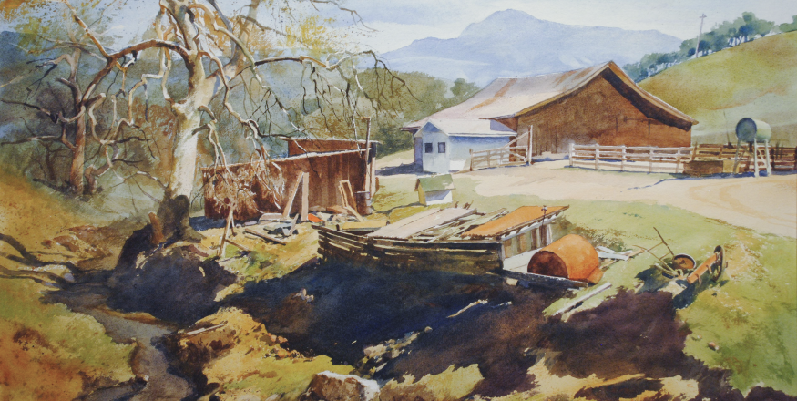 """The Art of Slow Looking: Selections from the Permanent Collection"" at the San Luis Obispo Museum of Art"