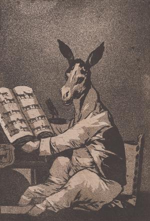 Francisco Goya y Lucientes (Spanish, 1746–1828), Asta su Abuelo