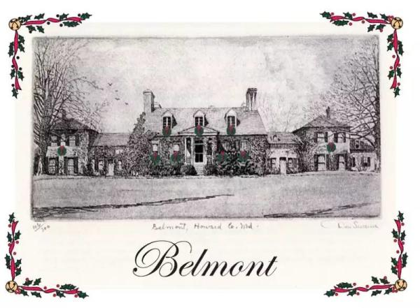 Vintage Image of Belmont Manor