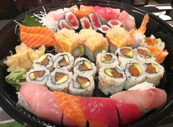 Mr Sushi platter