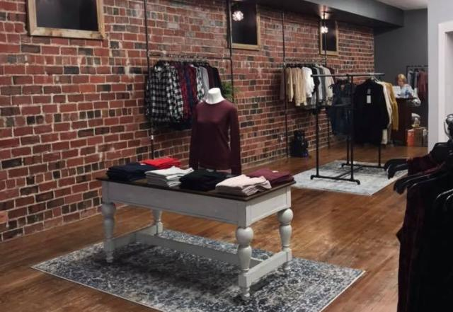 Browse stylish ladies' apparel in a warm, inviting space at Her Boutique in Martinsville.