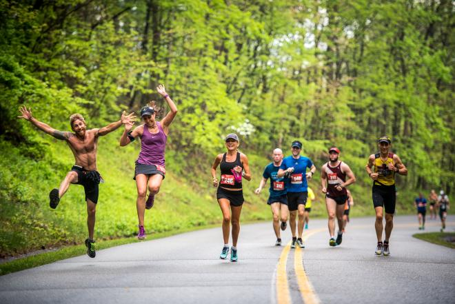 Blue Ridge Marathon Racers