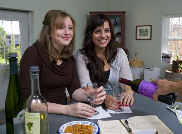 Wine Tasting at CJS Vineyards