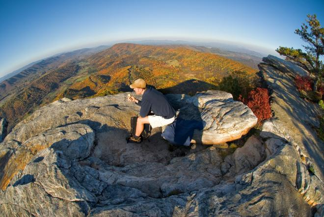 McAfee Knob Fall Hike