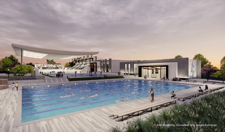 USA Water polo facility