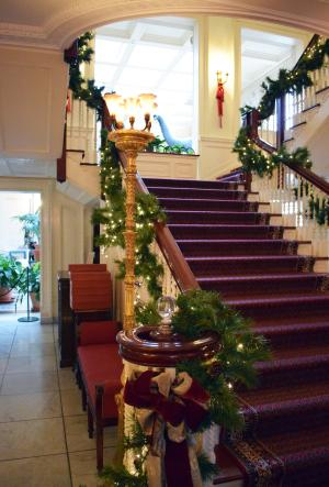 Eastman Museum in Rochester, NY for the holidays