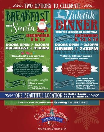 2019 Yuletide Dinner Flyer
