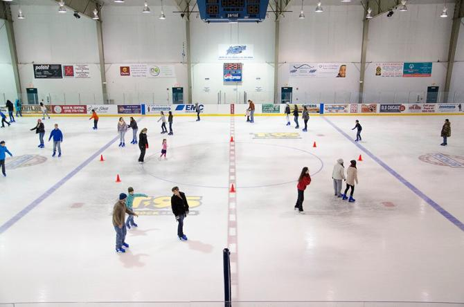 Ice Skating at Wichita Ice Center