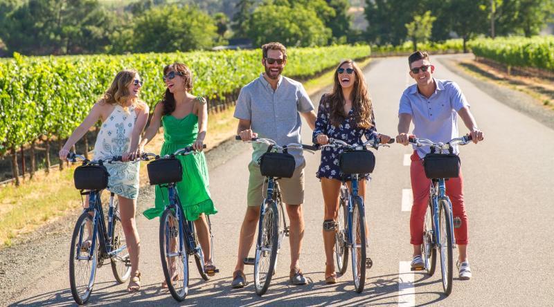 Millennials Biking