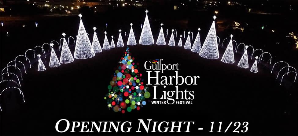 Gulfport Harbor Lights - Opening night