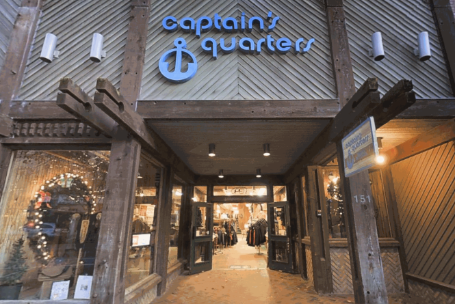 Captain's Quarters store front