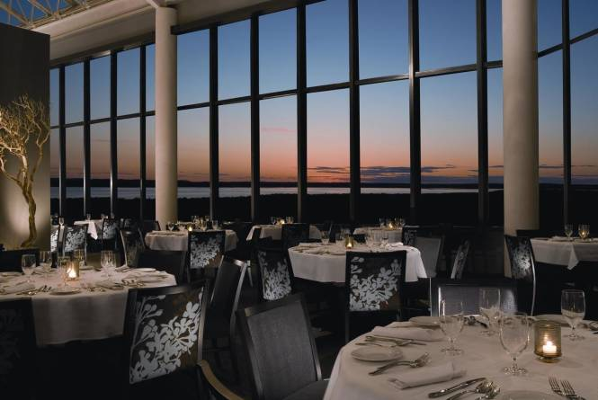 Aerie Restaurant and Lounge at Sunset