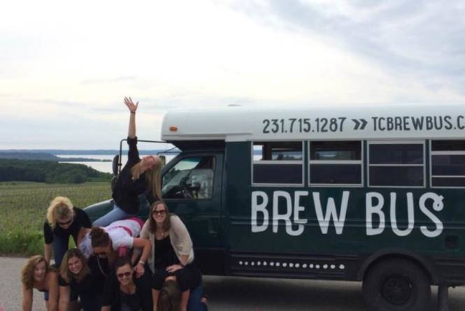 Brew Bus with Guests