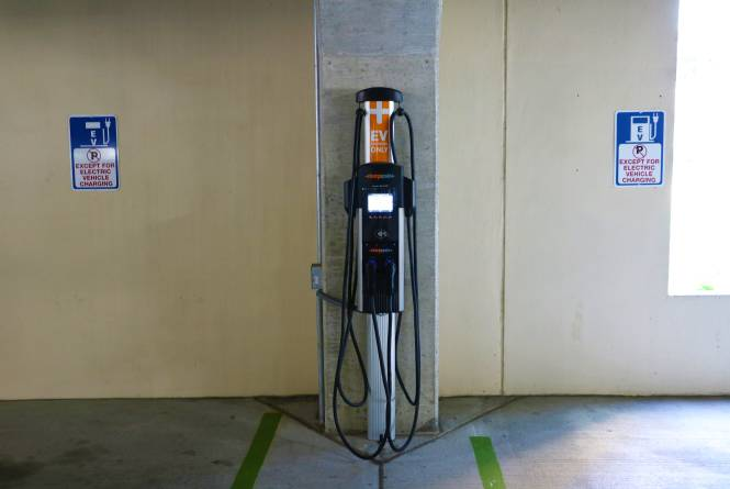 Charge Point - Old Town Parking Deck