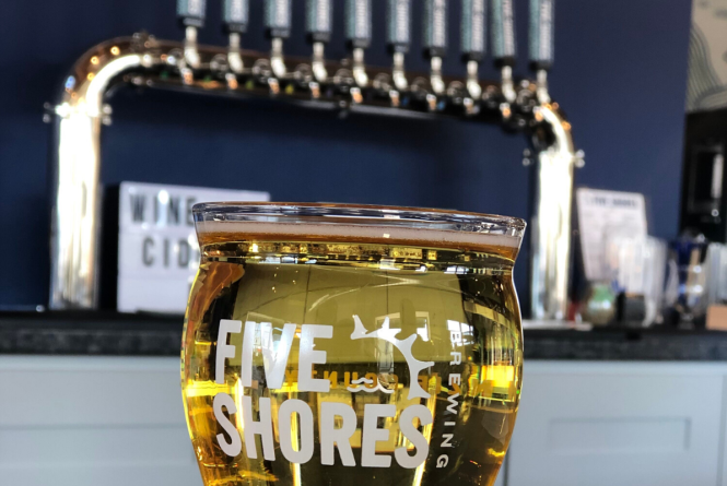 Five Shores Brewing