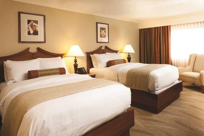 Hotel Room Queen Bed
