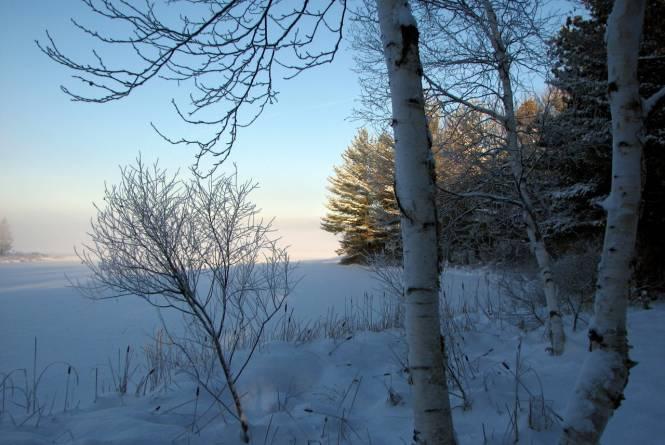 Winter at Lake 'N Pines Lodge