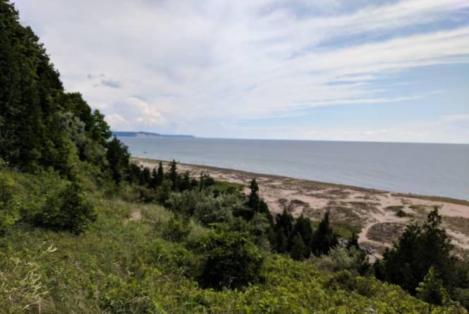 Elberta Beach Lookout