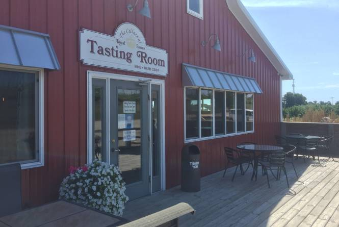 Tasting room store front