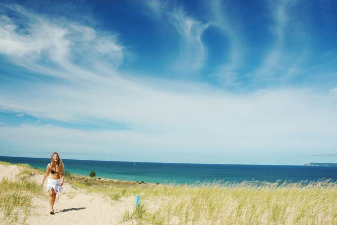 Sleeping Bear Point Trail-Sleeping Bear Dunes