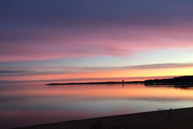 A Beautiful February Sunrise