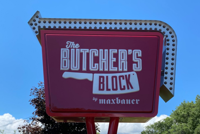 The Butcher's Block by Maxbauer