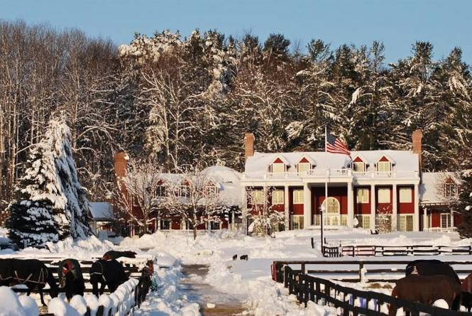Inn at Black Star Farms Winter