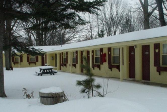 Winter - The Interlochen Motel