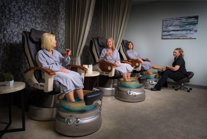 Pedicures at Spa Grand Traverse