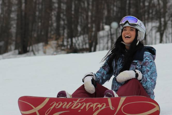 Snowboarding at Shanty Creek Resort