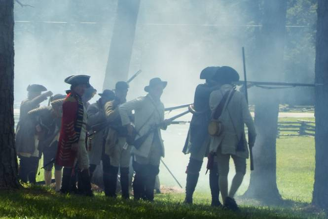 Alamance Battleground Combat