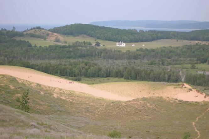 Sleeping Bear Dunes: Cottonwood Trail