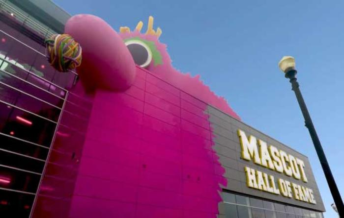 Mascot Hall of Fame building